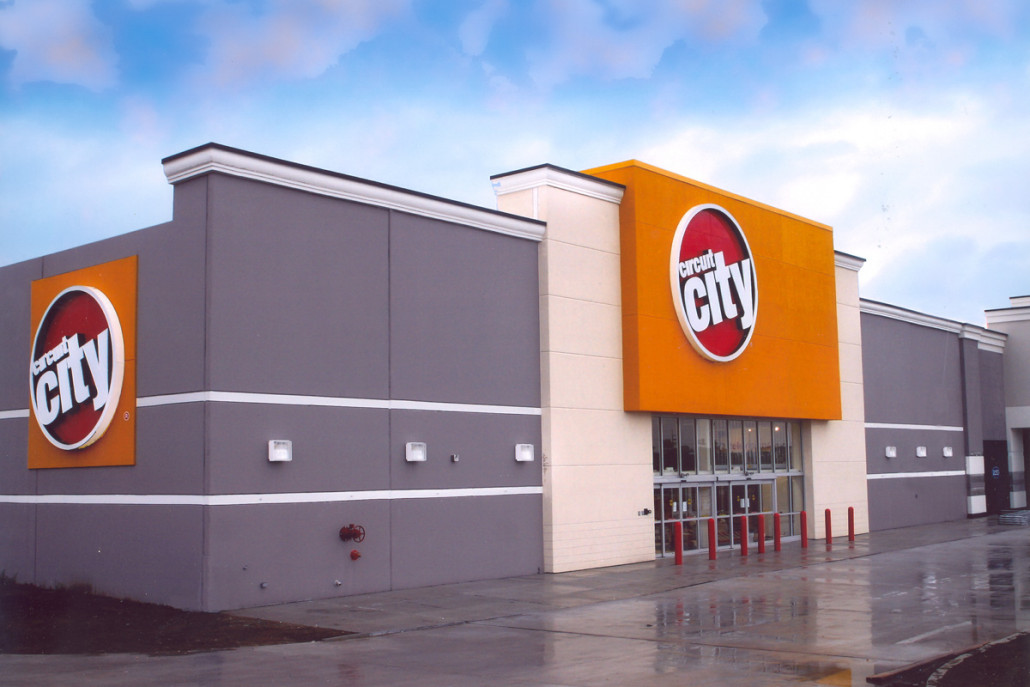 Circuit City Retail Stores Construction Donahuefavret