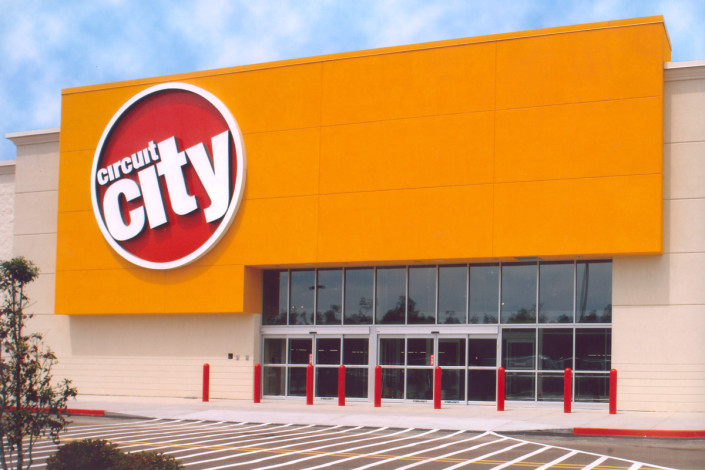 exterior of Circuit City Slidell LA | DonahueFavret General Contractors | Louisiana and Gulf South