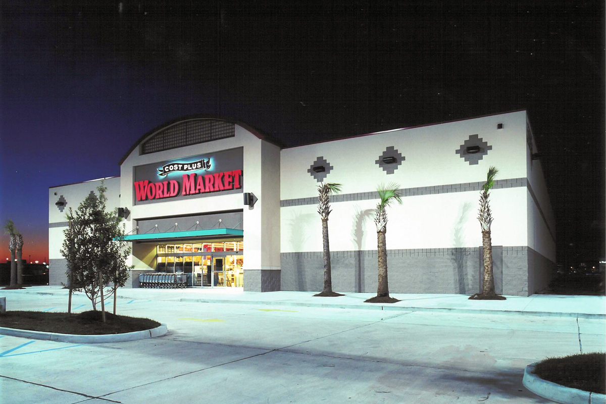 Cost Plus World Market Construction Project