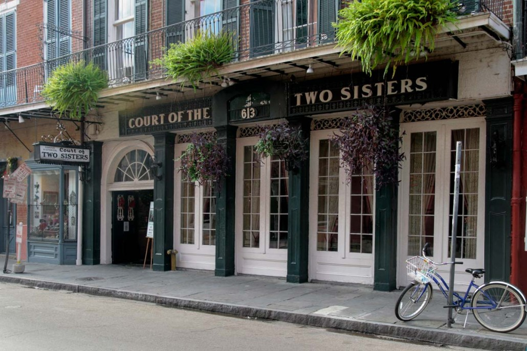 Two Sisters Restaurant New Orleans La