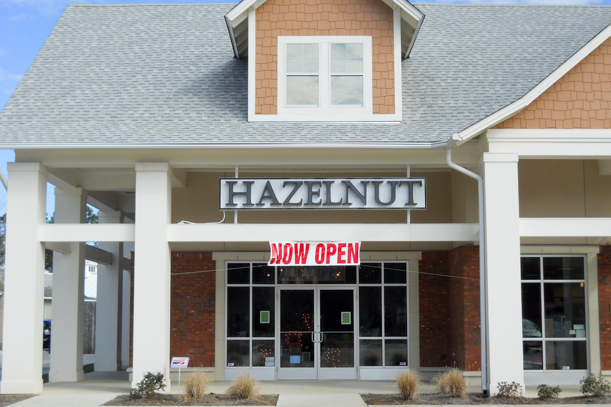 facade of Hazelnut Retail Store Mandeville, LA | DonahueFavret General Contractors | Louisiana and Gulf South