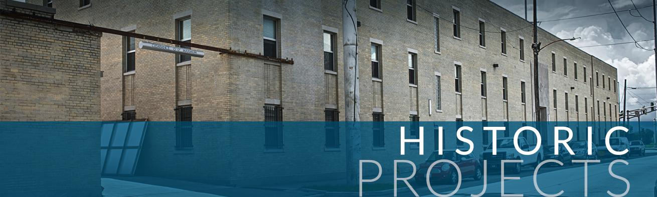 Historic Projects graphic | DonahueFavret General Contractors Louisiana and Gulf South