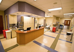 DonahueFavret General Contractor, Louisiana and Gulf South | Lakeside Medical Office Building Metairie LA Hallway