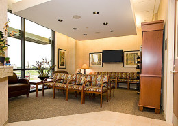Lakeside Medical Office Building Metairie LA Lobby | DonahueFavret General Contractors | Louisiana and Gulf South