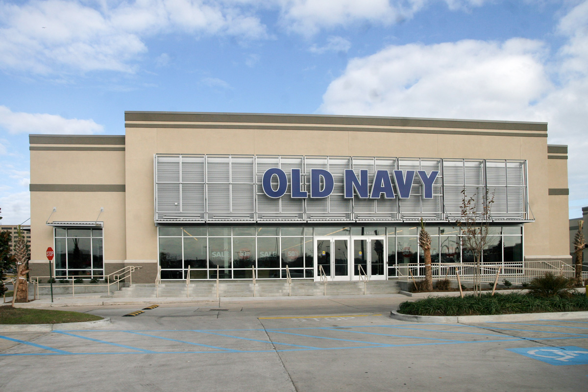 Old Navy Retail Store Construction Donahuefavret