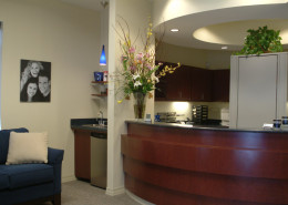 DonahueFavret General Contractor, Louisiana and Gulf South | Schof Dental Office Reception Mandeville LA