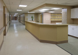 St. Luke's Medical Center New Orleans Hallway | DonahueFavret General Contractors Louisiana and Gulf South