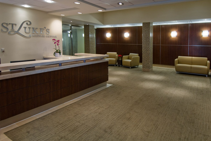 DonahueFavret General Contractor, Louisiana and Gulf South | St Luke's Medical Center Renovation New Orleans Lobby