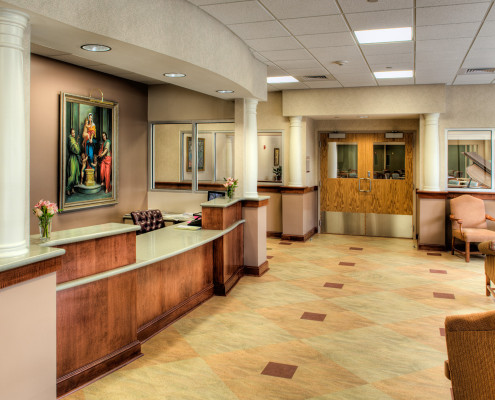 St. Margaret's Nursing Home Relocation New Orleans Lobby