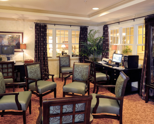 Sunrise Assisted Living Metairie Computer Library