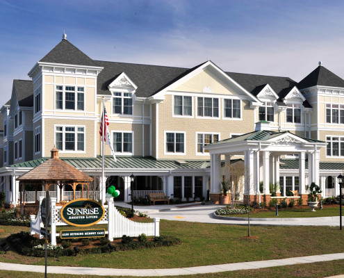 Sunrise Assisted Living Metairie Exterior Day