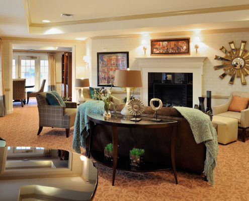 Sunrise Assisted Living Metairie Living Room