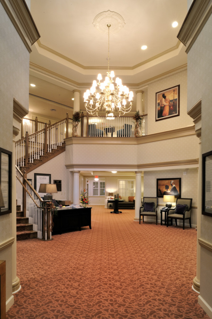 ... Sunrise Assisted Living Metairie Lobby ...