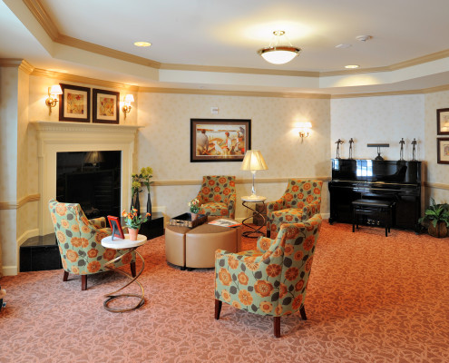 Sunrise Assisted Living MetairieLiving Room