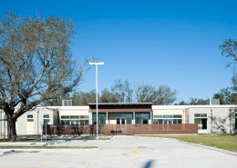 facade of TCA Little Woods Head Start Center New Orleans | DonahueFavret General Contractors | Louisiana and Gulf South
