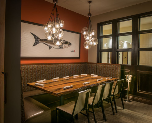 Trenasse Restaurant New Orleans dining area | DonahueFavret General Contractors | Louisiana and Gulf South