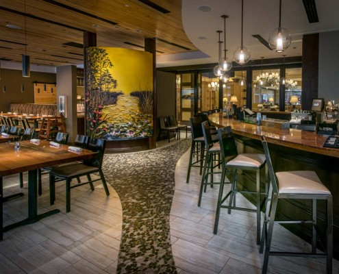 Trenasse Restaurant New Orleans bar and dining | DonahueFavret General Contractors | Louisiana and Gulf South
