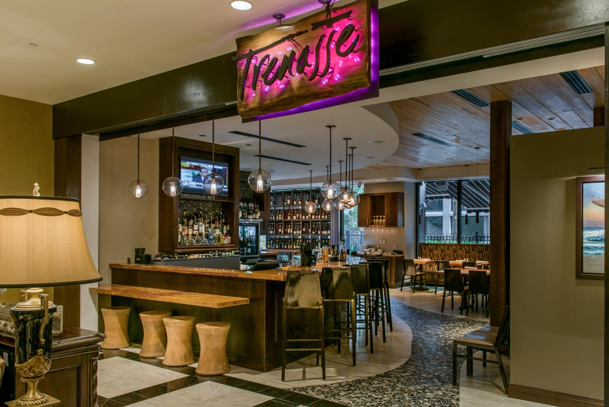 Trenasse Restaurant New Orleans Lobby Entrance