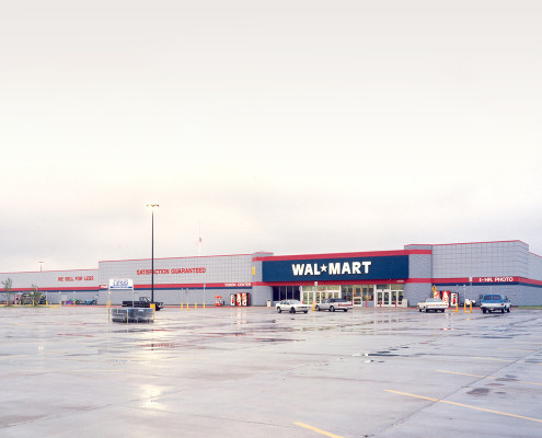 exterior of Wal-Mart Baton Rouge, LA | DonahueFavret General Contractors | Louisiana and Gulf South