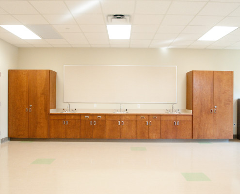 classroom in Lancaster Elementary School Madisonville, LA | DonahueFavret General Contractors Louisiana and Gulf South