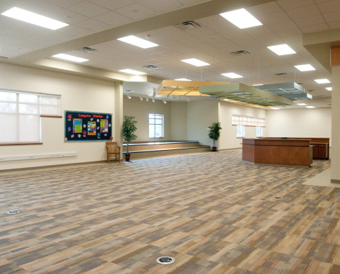 library in Lancaster Elementary School Madisonville, LA | DonahueFavret General Contractors Louisiana and Gulf South