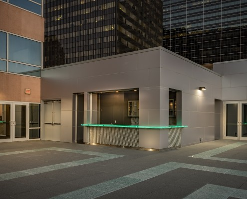 DonahueFavret General Contractor, Louisiana and Gulf South | Benson Tower Terrace, New Orleans, LA bar