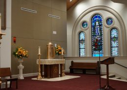 altar of Most Holy Trinity Church, Covington, LA| DonahueFavret General Contractors Louisiana and Gulf South