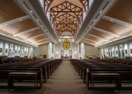 interior of Most Holy Trinity Church | DonahueFavret General Contractors Louisiana and Gulf South
