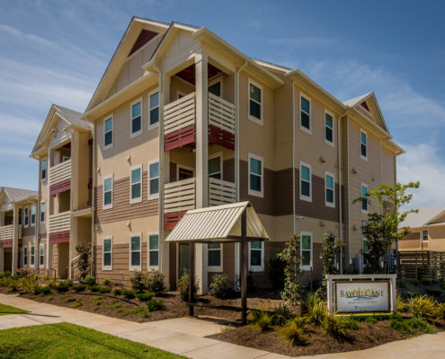 DonahueFavret General Contractor, Louisiana and Gulf South | Bayou Cane Apartments, Houma, LA facade