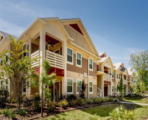 DonahueFavret General Contractor, Louisiana and Gulf South | Bayou Cane Apartments, Houma, LA exterior