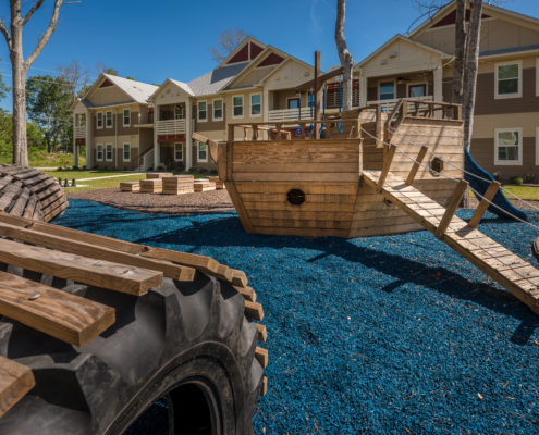 DonahueFavret General Contractor, Louisiana and Gulf South | Bayou Cane Apartments, Houma, LA playground