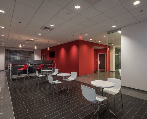 interior of KIA of Covington, LA | DonahueFavret General Contractors Louisiana and Gulf South
