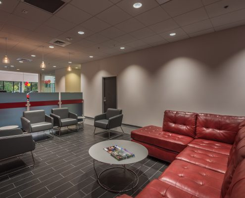 DonahueFavret General Contractor, Louisiana and Gulf South | KIA of Covington, LA waiting area