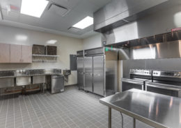 kitchen in Desire Street Ministries, New Orleans, LA | DonahueFavret General Contractors Louisiana and Gulf South