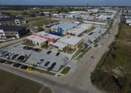 aerial view of Desire Street Ministries New Orleans campus | DonahueFavret General Contractors Louisiana and Gulf South