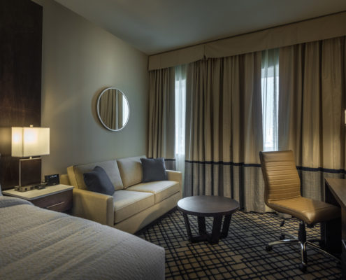 room in Fairfield Inn & Suites New Orleans | DonahueFavret General Contractors Louisiana and Gulf South
