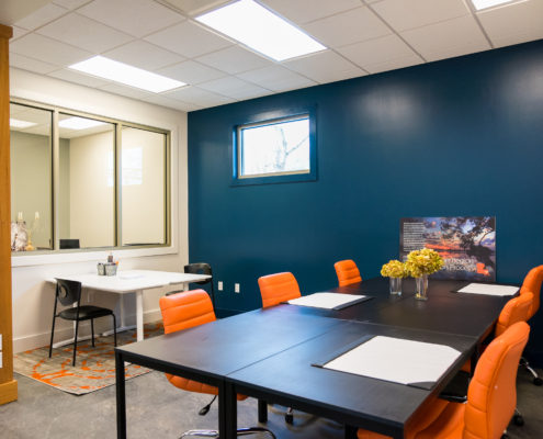 meeting space in Northshore Community Foundation | DonahueFavret General Contractors Louisiana and Gulf South