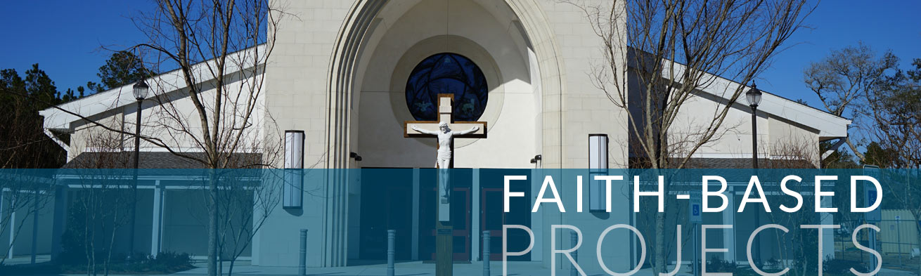 Faith Based Projects banner | DonahueFavret General General Contractors Louisiana and Gulf South