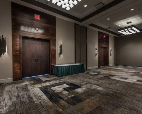 Baton Rouge Marriott pre-function area | DonahueFavret General Contractors Louisiana and Gulf South