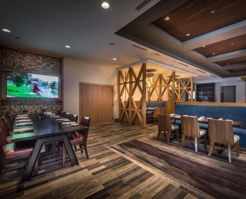 Baton Rouge Marriott Stink's restaurant | DonahueFavret General Contractors Louisiana and Gulf South