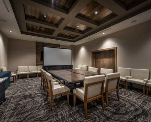Baton Rouge Marriott meeting room | DonahueFavret General Contractors Louisiana and Gulf South