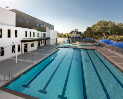Jewish Community Center pool | DonahueFavret General General Contractors Louisiana and Gulf South