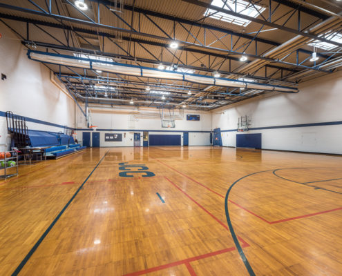 Jewish Community Center gym | DonahueFavret General General Contractors Louisiana and Gulf South