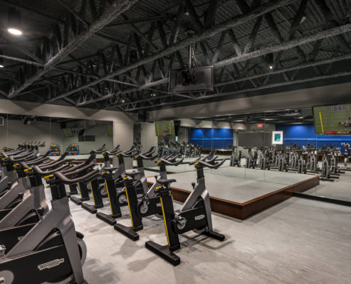 Jewish Community Center exercise room | DonahueFavret General General Contractors Louisiana and Gulf South
