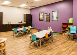 First Baptist Church Covington classroom | DonahueFavret General Contractors Louisiana and Gulf South
