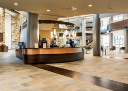 First Baptist Church Covington Commons Coffee Shop | DonahueFavret Contractors, Inc.