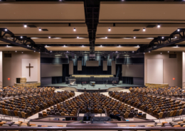 First Baptist Church Covington worship center | DonahueFavret General Contractors Louisiana and Gulf South