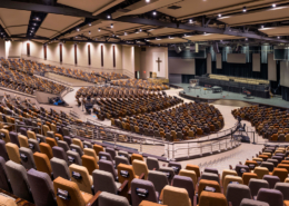 First Baptist Church Covington New Worship Center interior | | DonahueFavret General Contractors Louisiana and Gulf South