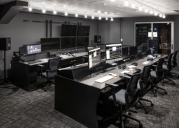 First Baptist Church Covington AV control room | | DonahueFavret General Contractors Louisiana and Gulf South