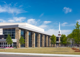 First Baptist Church Covington Exterior | DonahueFavret Contractors, Inc.